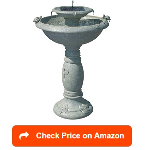 Smart-Solar-34222RM1-Bird-Bath-Fountain