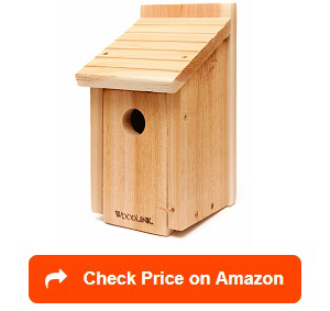Woodlink Wooden Bluebird House