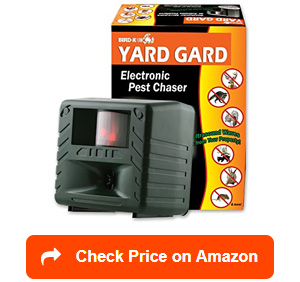 bird x yard gard electronic animal repeller
