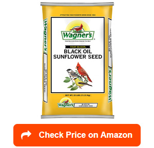 wagners 76027 black oil sunflower
