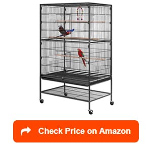 vivohome-wrought-iron-large-bird-cage