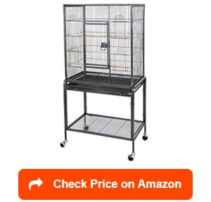 zeny-wrought-iron-pet-bird-cage-with-stand
