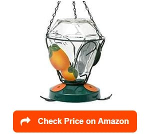 Perky-Pet-750-Deluxe-Hand-Painted-Oriole-Feeders