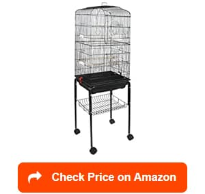 super deal rolling cockatiel bird cages