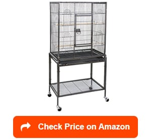 zeny stand wrought iron bird cages